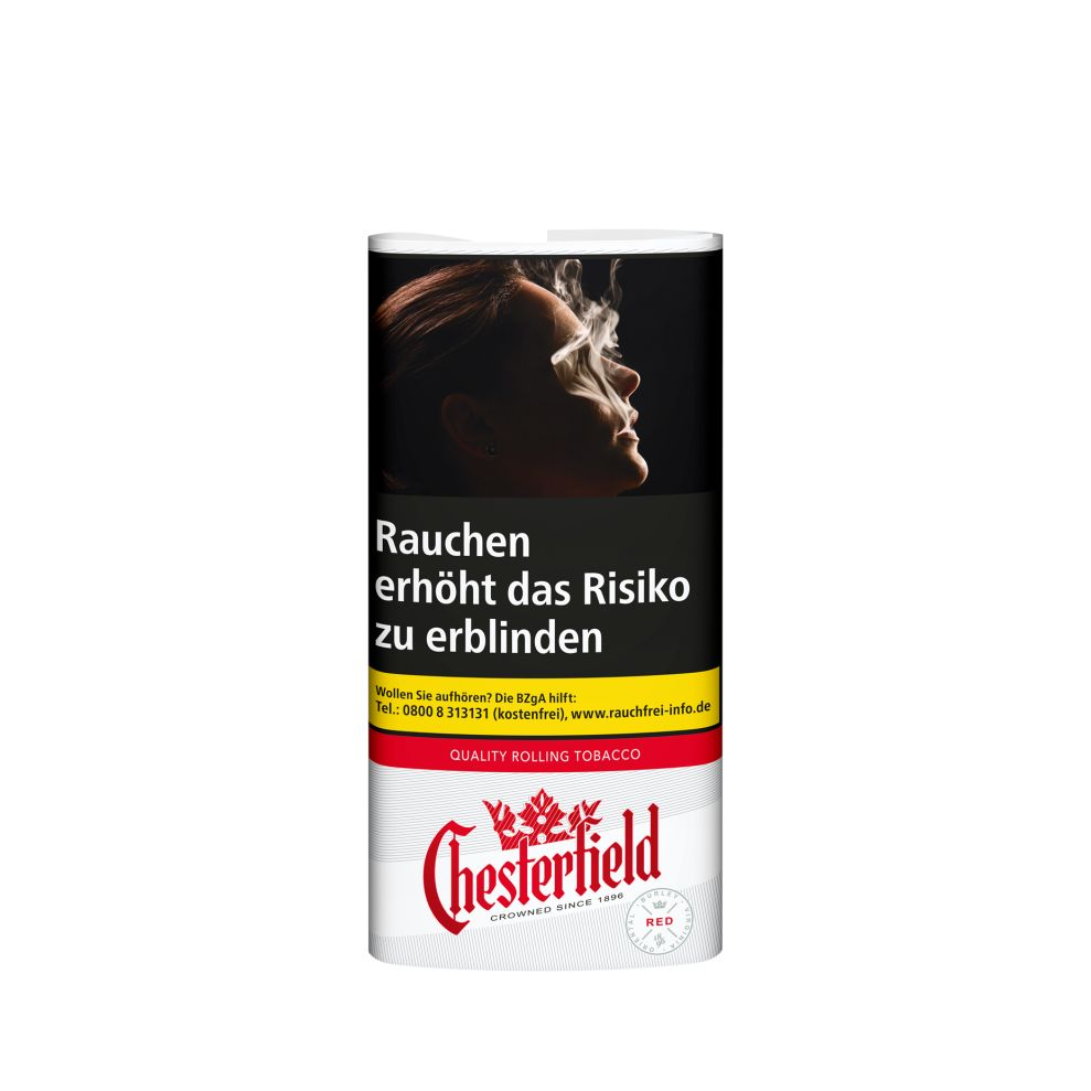 Chesterfield Red Rolling Tobacco 30g Whitade